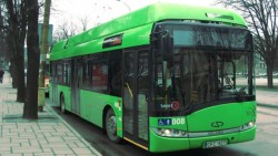 Žalias autobusas